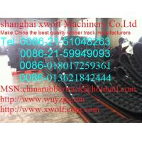 Buy cheap Factory direct sales of construction machinery rubber track, rubber fast from wholesalers