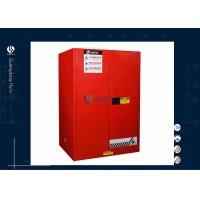Buy cheap Double Side Open 90 Gallon Lockable Storage Cabinet , Customized Flammable Safety Cabinet from wholesalers