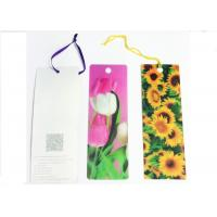 Buy cheap Recyclable 3D Lenticular Business Card Printing Good Flip Effects from wholesalers