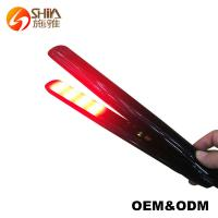 Buy cheap Floating plate infrared Ultrasonic cold hair straightener flat iron from wholesalers