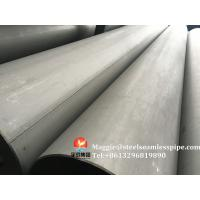 Buy cheap Stainless Steel Welded Pipes ASTM A312 TP304 TP304L TP304H TP321 TP316L ASTM A790 S31803, SCH10, SCH40,6M 11.8M from wholesalers