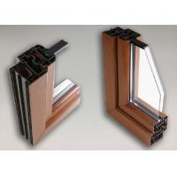 Buy cheap High Performance Aluminium Window Profiles , Anodized Aluminium Edge Profile from wholesalers