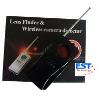Buy cheap Vibrating Alarm Wireless Bug Camera Detector , IR Ray Specially Filtrated Len product