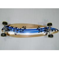Buy cheap Kids Stable Maple Wood Plain Skateboards with PVC Cushion / Aluminum Truck from wholesalers