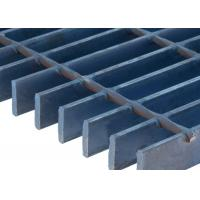 Serrated Stainless Steel Bar Grating Wide Mesh Flowforge 304 316 Series Material