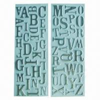 Buy cheap Alphabet puffy stickers with sponge, non-toxic, fashionable design, OEM/ODM orders are welcome product