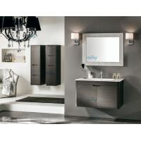 Buy cheap Dark Grey Hanging PVC Bathroom Vanity 100 Inch With Waterproof Design from wholesalers