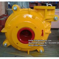 Buy cheap 8/6 E -AH Metal Liner  Motor Drive Horizontal Slurry Pump Price from wholesalers