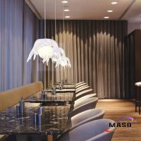 Buy cheap Newest Modern Art Resin Pendant Light Root Shape Cover with Glass Bulb from wholesalers