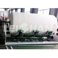 Buy cheap Wood Pulp Tissue Production Line , Tissue Paper Roll Making Machine from wholesalers