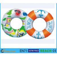 Buy cheap Dia 80cm Kids Swimming Ring,100% Leak Proof Inflatable Pool Tubes And Rings from wholesalers