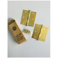 Buy cheap Square Type 4 Inch Solid Brass Door Hinges Bb Print Loose Pin Easy Installation from wholesalers
