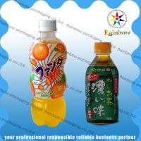 Buy cheap PET / PVC Automatic Heat Shrink Sleeve Labels With Customized For Drink Bottle from wholesalers