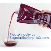 Buy cheap Red wine,Milk beverage spout bag self-standing sealing bag,bag with spout cosmetic spout bag bag in box spout,bagease pa from wholesalers