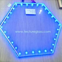 Buy cheap Tecture luminous LED laminated glass power glass from wholesalers