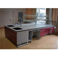 Buy cheap Stainless Steel Modular Laboratory Furniture Grey Top 304 SUS High Strength Hinge from wholesalers