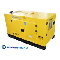 Buy cheap Super Silent Denyo Silent Generator Set 25KVA Power Diesel Generator With ATS from Wholesalers