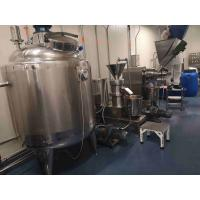 Buy cheap 304 Stainless Steel Peanut Butter Processing Line High Output CE Certificate product