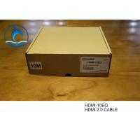 Buy cheap High Speed HDMI 2.0 Cable , Hdmi To Hdmi Cable 50ft HDMI-10EQ Optical Fiber Type from wholesalers