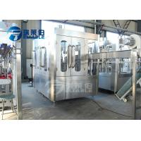 Buy cheap Small Scale Water Bottling Equipment , Automatic Water Bottle Filler from wholesalers