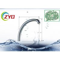China C1 Type Single Level Millior Polished Chrome Faucet Accessory Brass Sink Faucet Spout Pipe on sale