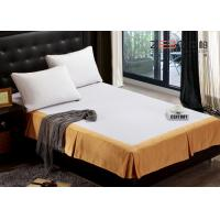 Buy cheap Fashion Design Hotel Bed Skirts / Adjustable Bed Skirt Multi Color from wholesalers