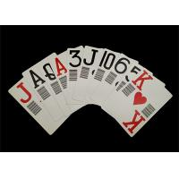 Buy cheap Plastic PVC Waterproof Casino Standard Playing Cards Custom Offset Printing from wholesalers