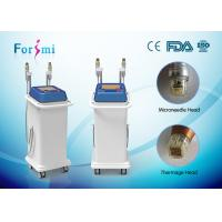 Buy cheap 5Mhz microneedle fractional radiofrequency mini thermage Vertical RF machine from wholesalers