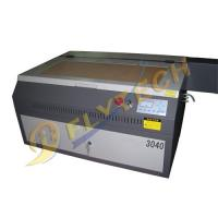 Buy cheap mini A3 size 3040 laser glass engraving machine with40w/60w laser tube from wholesalers