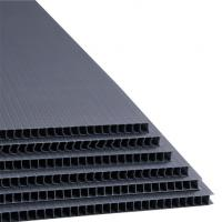 Buy cheap 2mm Black Corrugated Plastic Divider 18x24 Coroplast Plastic Sheet from wholesalers
