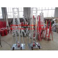 Buy cheap Cable Drum Jacks Tripod cable drum trestles made of steel from wholesalers