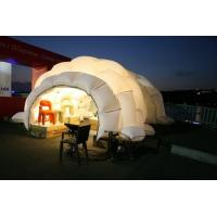 Buy cheap Pneumatic Gallery Inflatable Tent Comercial Lighting Inflatable Garden Tent For Event from wholesalers