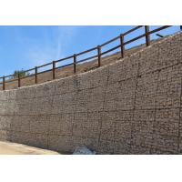 Buy cheap Woven or Welded Type Galvanized Gabion Stone Basket For Retaining Wall from wholesalers