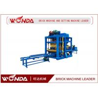 Buy cheap Cement Concre Automatic Brick Making Machine , Brick Making Equipment / Forming Machine from wholesalers