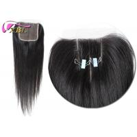 Buy cheap 18 Inches Virgin Brazilian Straight Hair Closure Lace Base Swiss Lace from wholesalers
