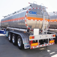 Buy cheap CIMC Diesel Fuel Tank Trailer from wholesalers