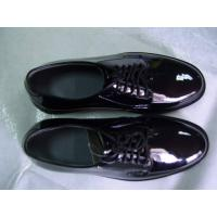 Buy cheap Military Police Officer Shoes Mirror Leather Shoes from wholesalers