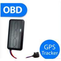 Buy cheap OBD Waterproof Cable Motorcycle Gps Tracker , Sim Card Gprs Gsm Dirt Bike Gps Tracker from wholesalers