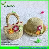 Buy cheap LUDA handmade kids handbags paper straw crochet hats and handbags from wholesalers