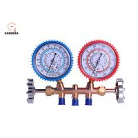 Buy cheap OrionMotorTech 3FT AC Diagnostic Manifold Gauge Set For R134A R12 R22 R502 Refrigerants from wholesalers