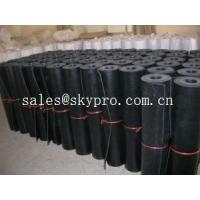 Buy cheap Commercial grade 1mm / 2mm rubber sheet rolls 3800mm wide maximum from wholesalers