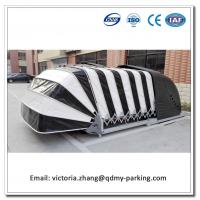Buy cheap Remote Control Solar Powered Retractable Car Garage/ Automatic Car Cover Patent/Automatic Solar Car Cover from wholesalers