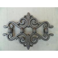 Wrought iron fence parts ornamental