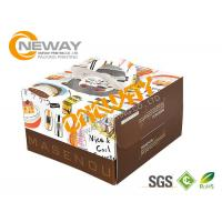Buy cheap Printed Packaging Boxes , Packing Factory Made Printed Paper Cake Box With Handle from wholesalers