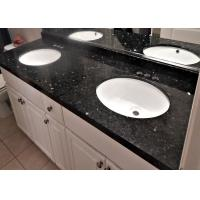 Buy cheap Emerald Pearl Custom Made Blue Granite Slab Countertops 20mm Thickness from wholesalers