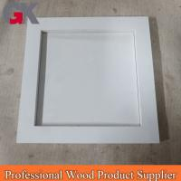 Buy cheap wholesale picture frames 5x7 white craft wood picture f from wholesalers