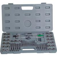 Buy cheap High Efficient Metal Working Tools 60Pcs Metric Taps And Dies Set Screw Tap and Threading Die from wholesalers