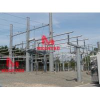Buy cheap 115KV Transmission pole from wholesalers