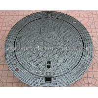 China High Quality Iron Cast Lockable Hinged Manhole Covers Make In China on sale