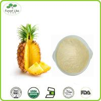 Buy cheap High quality pure natural pineapple extract powder from wholesalers